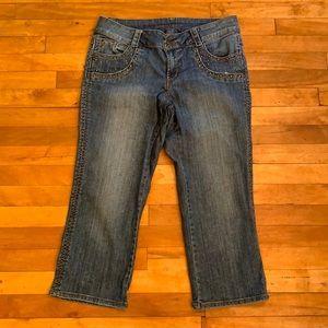 4/$40 - BOOM BOOM Jeans (Capris) - Size 14W